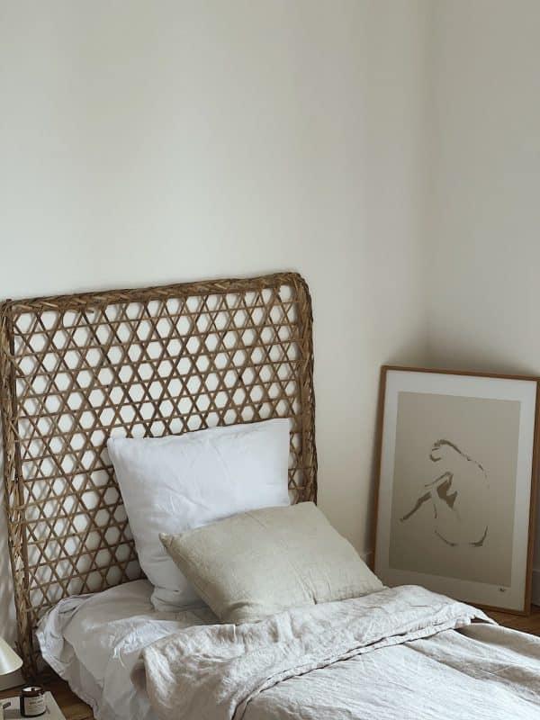 Tete de lit bambou
