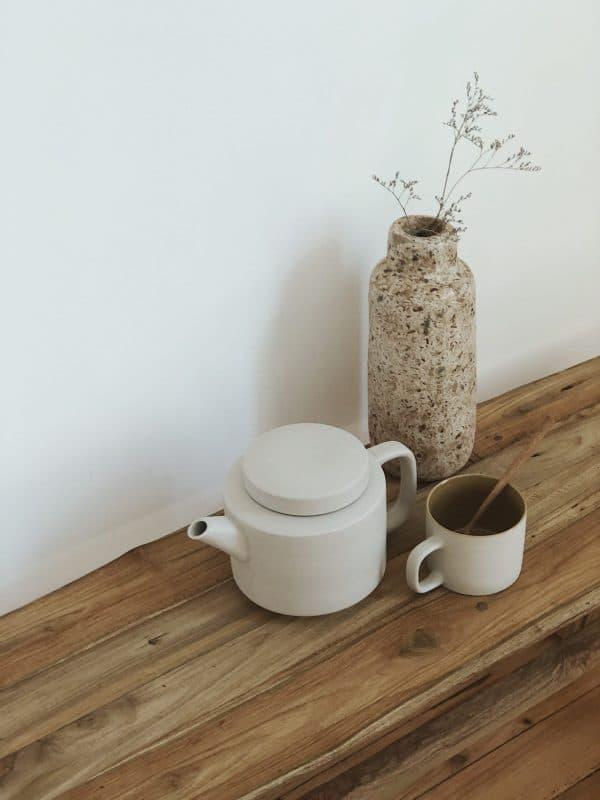 Théière céramique