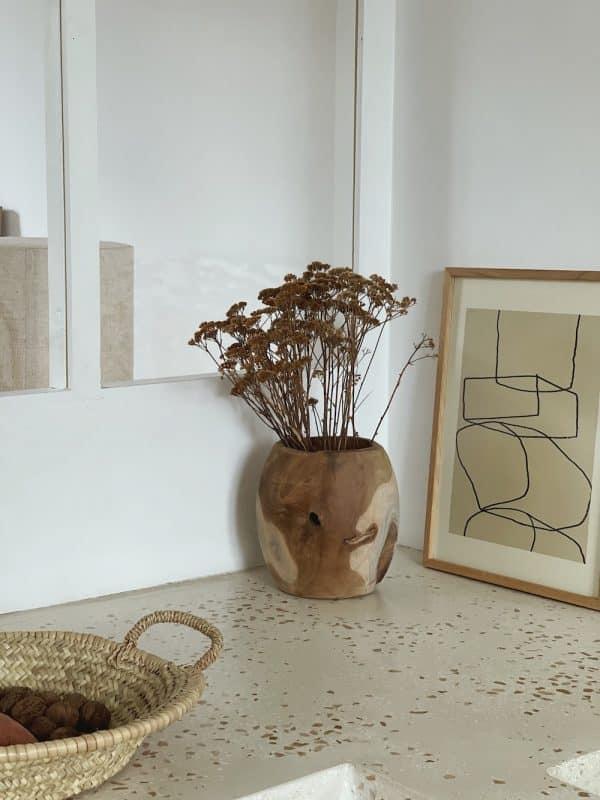 Vase bois