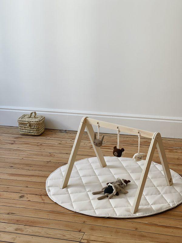 Arche d'éveil bébé en bois