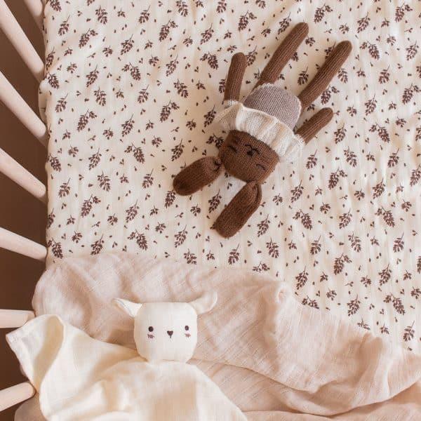 Drap housse lit bébé