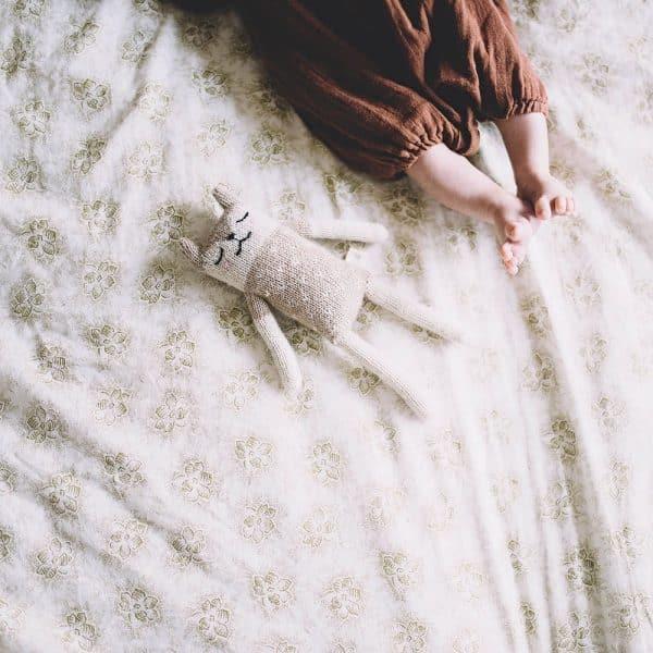 Doudou tricoté main
